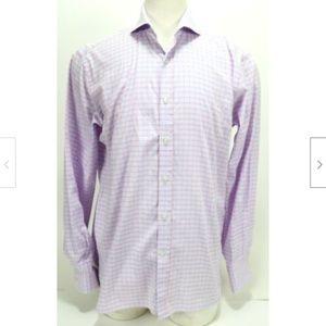 Michael Bastian Men's Trim Dress Shirt Size Large